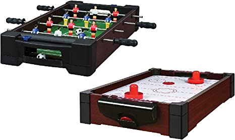 Juego de mini mesa – futbolín de interior y mesas de hockey de ...