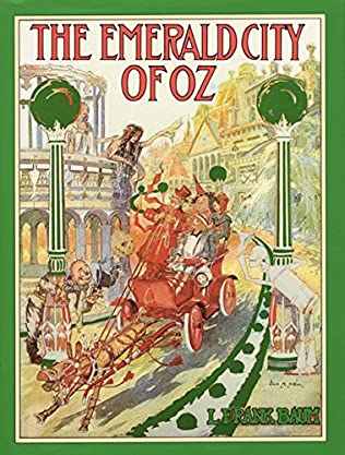 book cover of The Emerald City of Oz