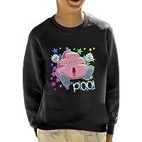 Cloud City 7 Arale Poop Dr Slump Kid's Sweatshirt