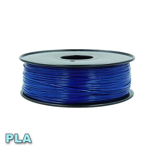 WSHZ Paquete de filamentos de PLA, precisión del Carrete +/- 0.03 ...