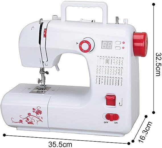 Máquina de coser electrónica, brazo libre con 30 puntadas, brazo ...