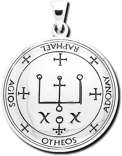 Alterras Anhänger: Erzengel Raphael aus 925 Silber