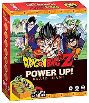 USAopoly Dragon Ball Z Power Up Board Game - English: Amazon.es: Juguetes y juegos