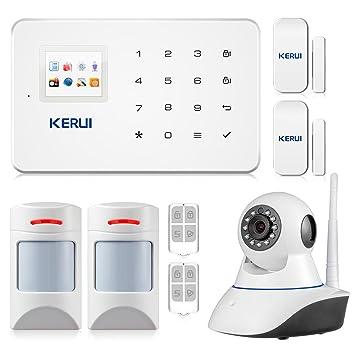 Kerui G18 - Set de alarma particular, inalámbrica, incluye ...