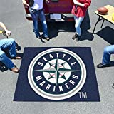 "Team Fan Gear Fanmats Seattle Mariners Tailgater Rug 60""72"" MLB-6419"