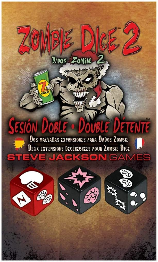 Edge Entertainment-Dados Zombie 2: Sesión Doble (Asmodee, EESJZD02): Amazon.es: Juguetes y juegos