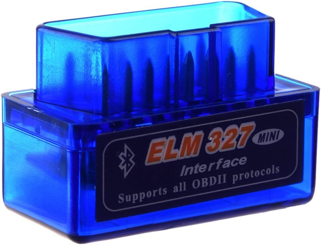 ELM327 Bluetooth Mini coche herramienta de diagnóstico OBD2 Interfaz de OBDII Escáner de Android V1. 5 ELM 327 cable Esfuerzo de torsión BUS CAN Código Software CAN BUS UK Wireless PC nueva versión 20