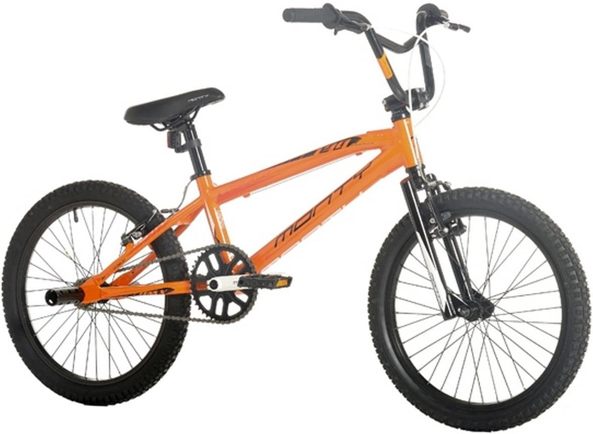 Monty BMX 139 - Bicicleta Unisex, Color Naranja, 10