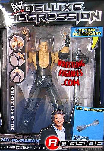 WWE Wrestling DELUXE Aggression Series 9 Action Figure Mr. Vince McMahon (Wwe Action Figure Mr Mcmahon)