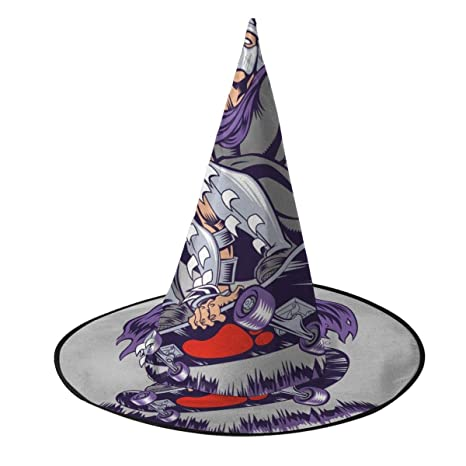 KUKHKU Sombrero de Bruja para monopatín con diseño de ...