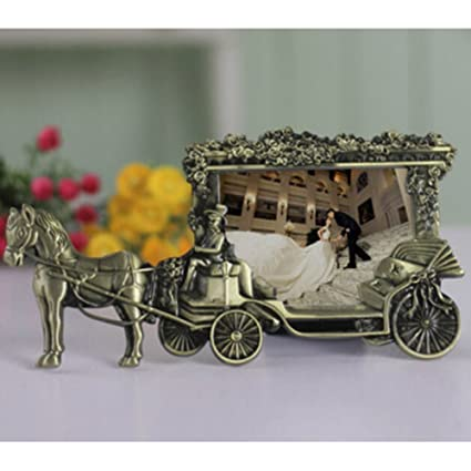 Vintage decorative metal carriage