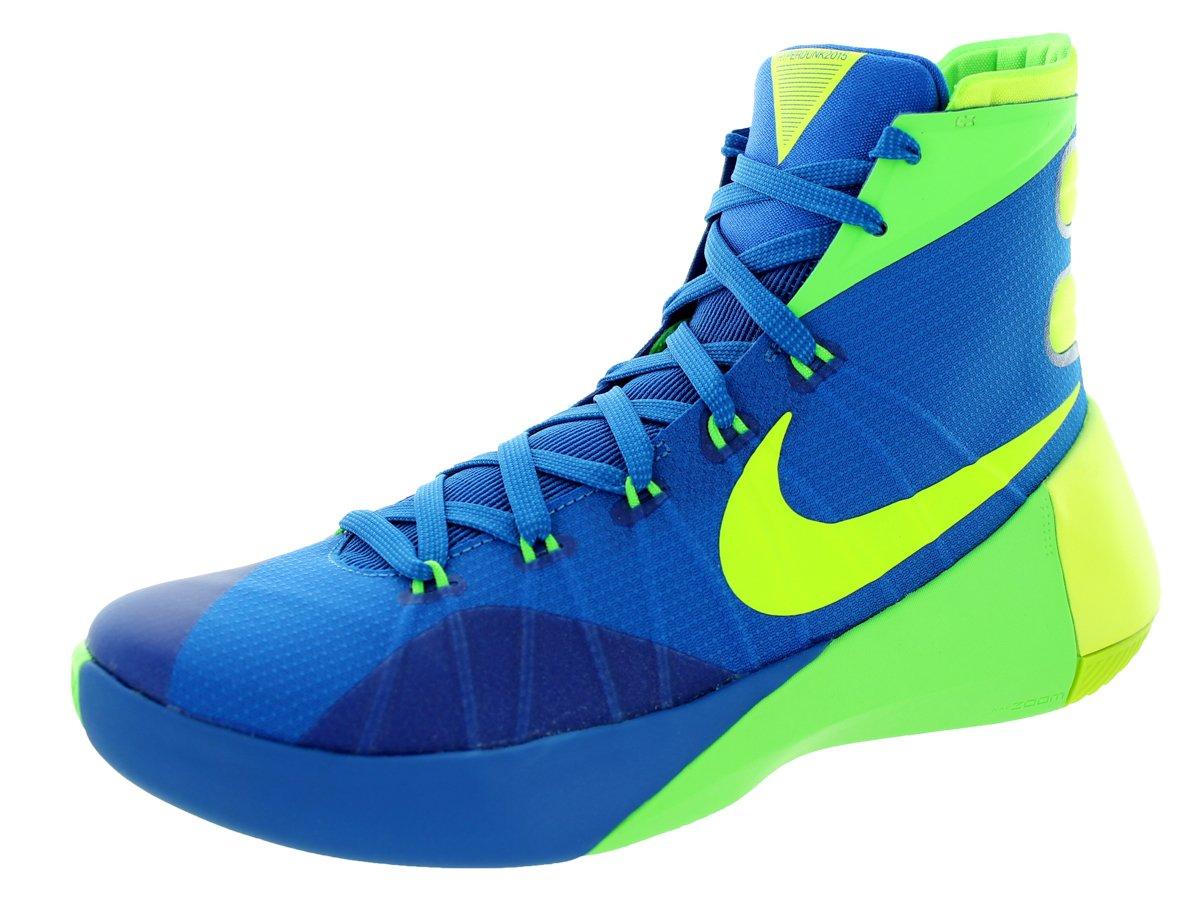 NIKE Men's Hyperdunk 2015 Basketball Sneaker B00RKDZ0RS 10.5 D(M) US|Soar/Volt-green Strike