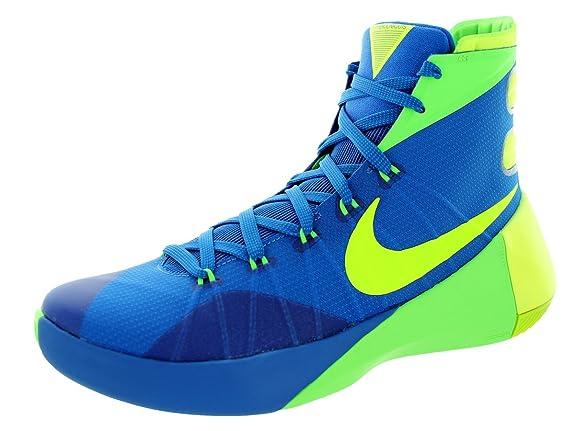 a398609d0786 Nike Men s Hyperdunk 2015 Soar Volt Green Strike Basketball Shoe 13 Men US   Buy Online at Low Prices in India - Amazon.in
