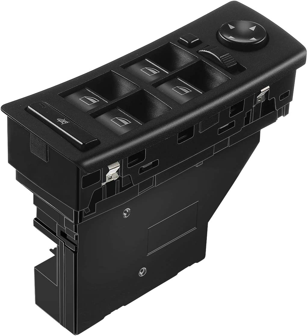 A-Premium Power Window Switch For BMW E53 X5 2001-2006 with Auto Dimming Mirrors Front Left