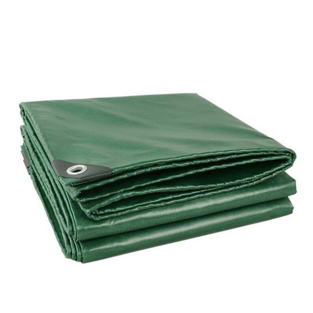 LQQGXL 厚いガラス繊維耐火布高温耐性難燃布断熱断熱防水日焼け止め防水シート 防水シート (色 : アーミーグリーン, サイズ さいず : 3 * 4m) 3*4m アーミーグリーン B07JV9SPL8