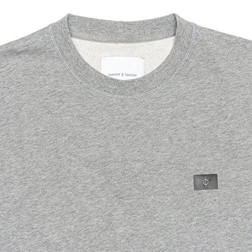 Mens n Mel amp; Grey 7435 Sweatshirt Samsoe O Ls Gary zgXWqt4