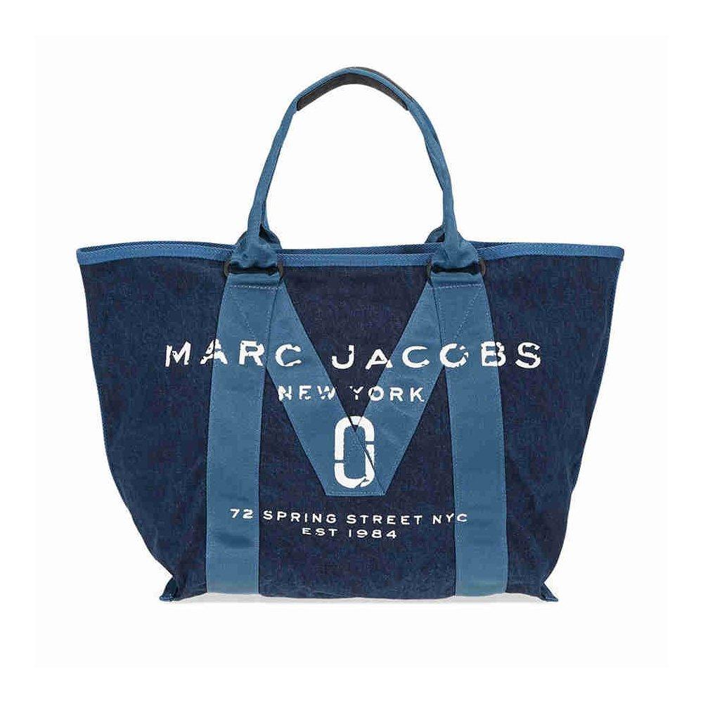 Marc Jacobs Women's New Logo Tote, Denim