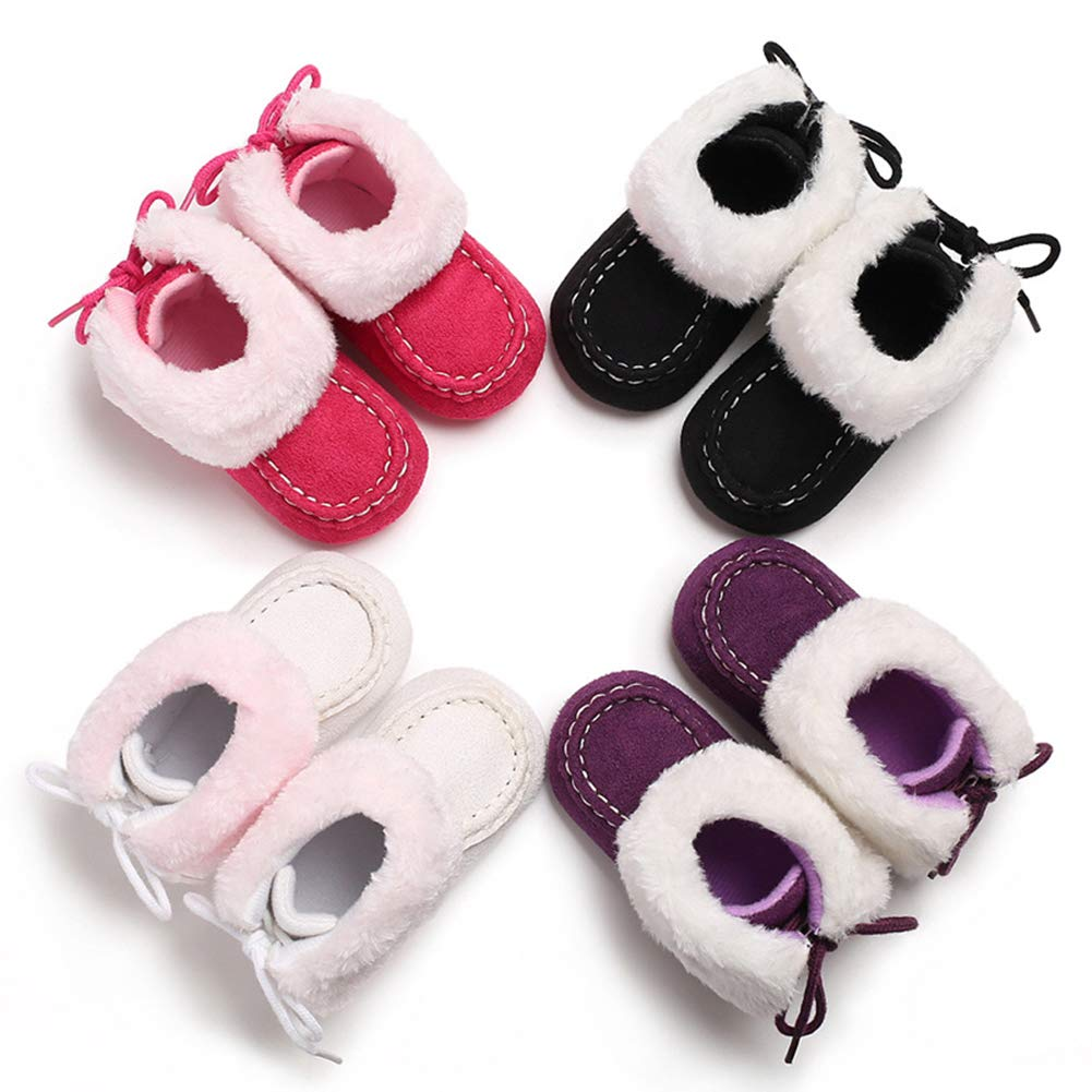 Leoie Newborn Baby Shoes Cute Boots Soft Toddler Shoes