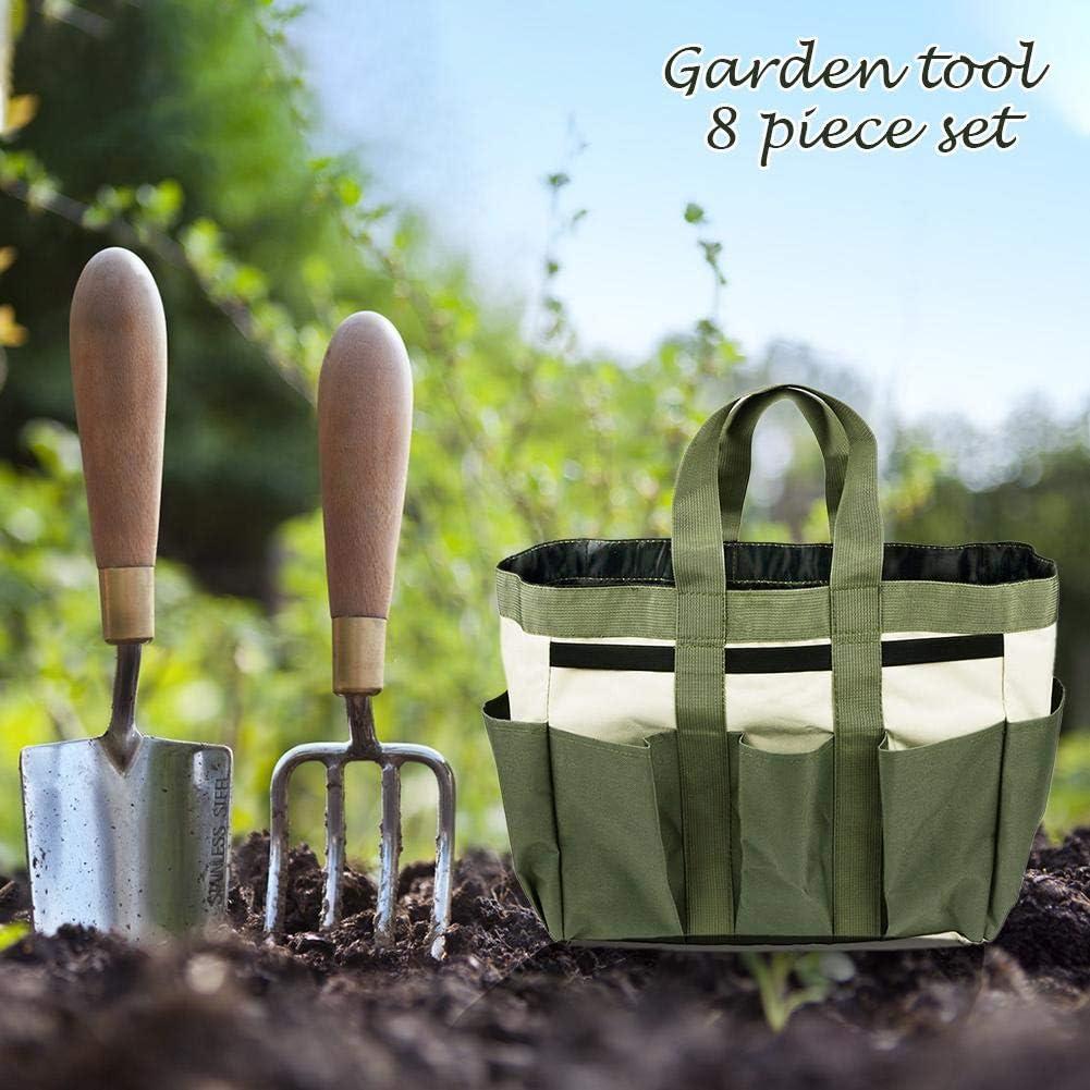 da giardino cortile prato pala Borsa multifunzionale per attrezzi da giardino fiori portatile per casa kit di giardinaggio in tessuto Oxford manuale per la casa