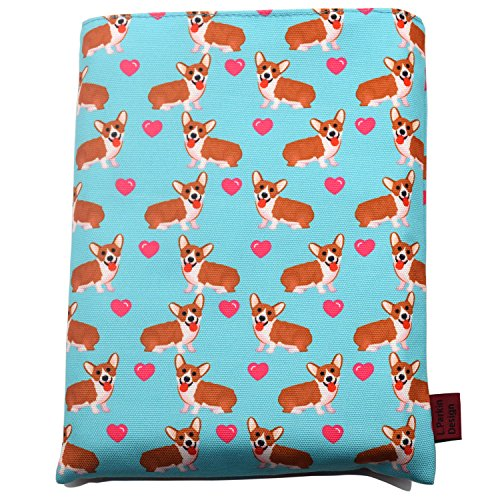 Book Sleeve Corgi Dog Book Cover Medium Book Sleeves Teen Gift -
