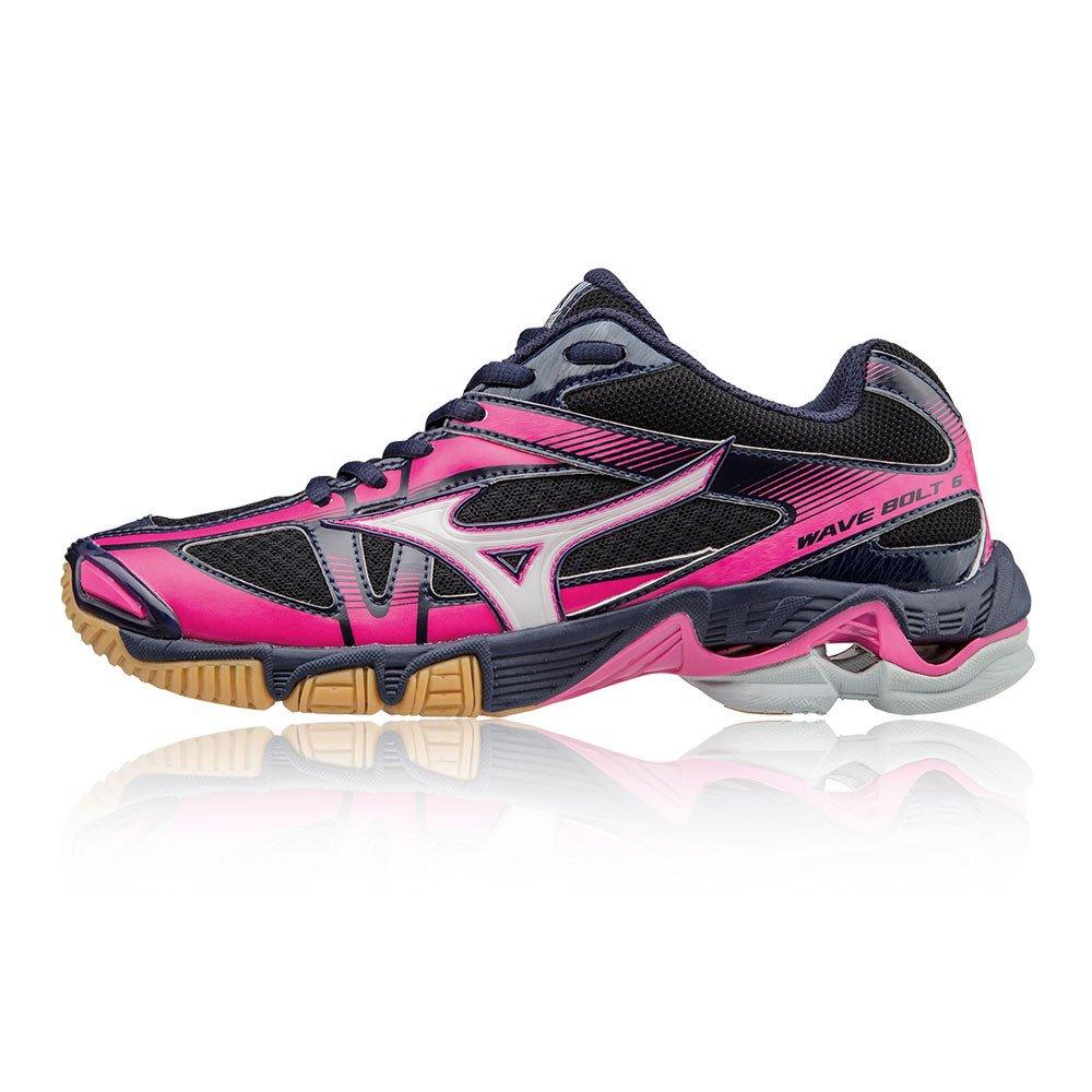 Mizuno Damen Wave WOS Bolt WOS Wave Volleyballschuhe schwarz 140927