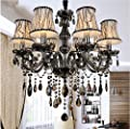 New Modern led crystal chandeliers for kitchen room Livingroom Bedroom Gray Color K9 crystal lustres de teto ceiling chandelier
