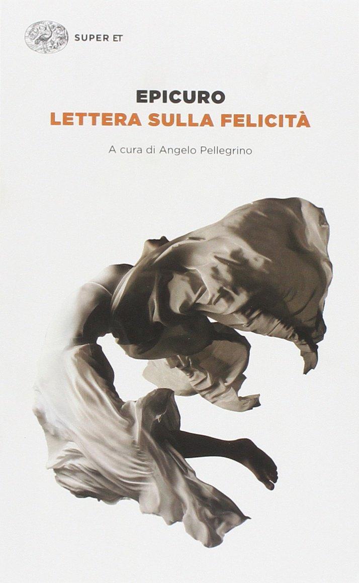 Copertina Libro Lettera sulla felicità