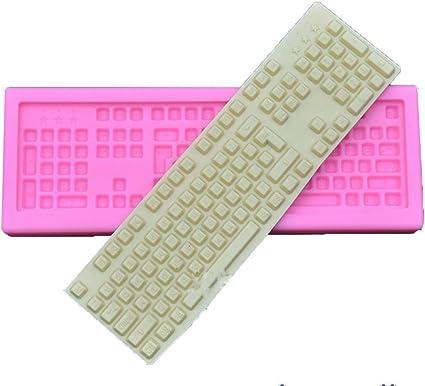 Yunko ordenador teclado decoración de pasteles herramientas ...