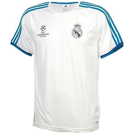 Adidas Camiseta de Entrenamiento del Real Madrid para Hombre, Todo el año, Hombre,