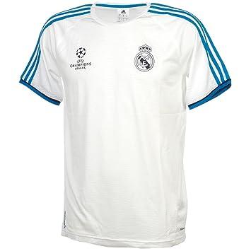 Adidas Camiseta de Entrenamiento del Real Madrid para Hombre, Todo el año, Hombre, Color White/Brblue/Nindig, tamaño 3XL: Amazon.es: Deportes y aire libre