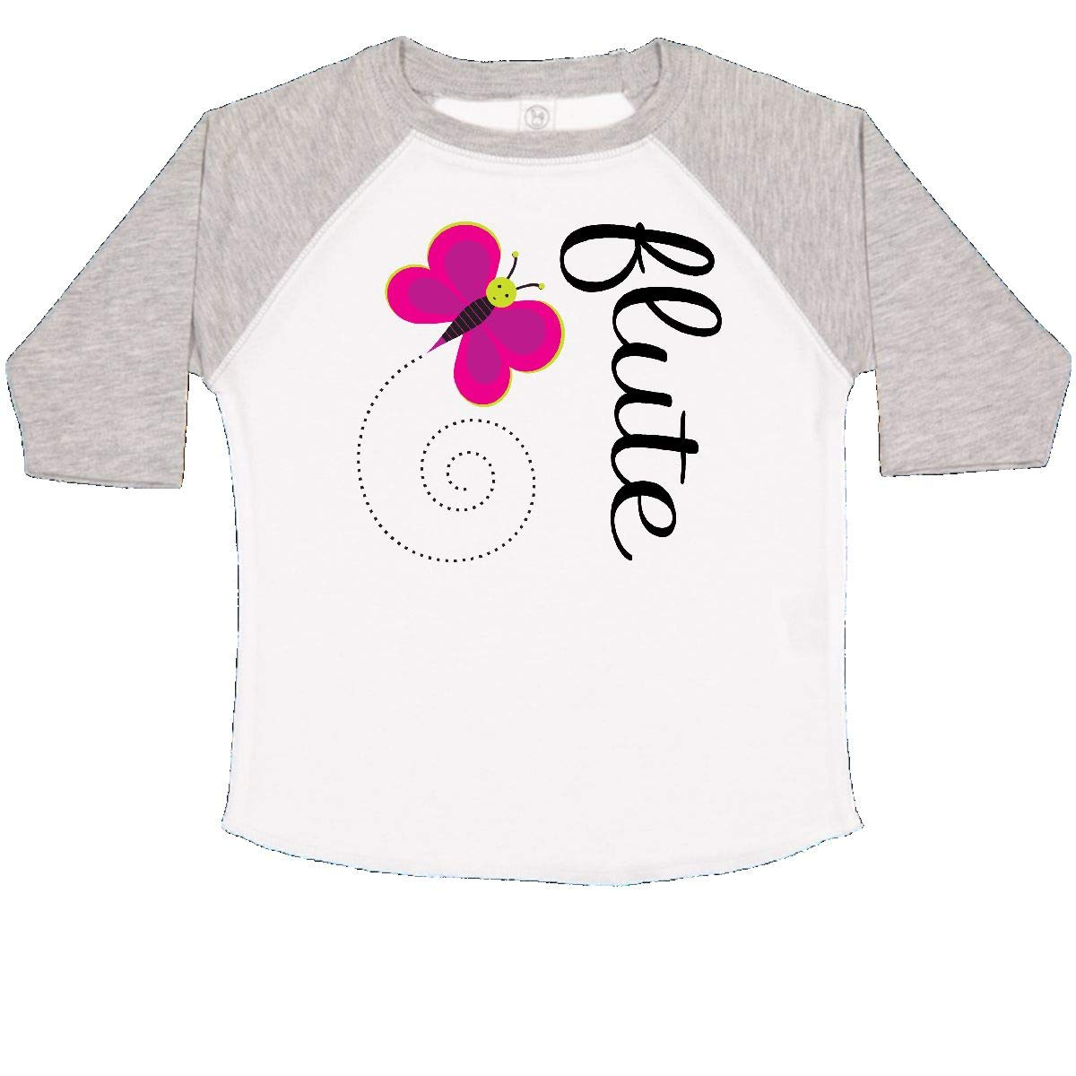 inktastic Cute Flute Player Butterfly Toddler T-Shirt