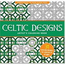 Celtic Designs Adult Coloring Book (31 stress-relieving designs)