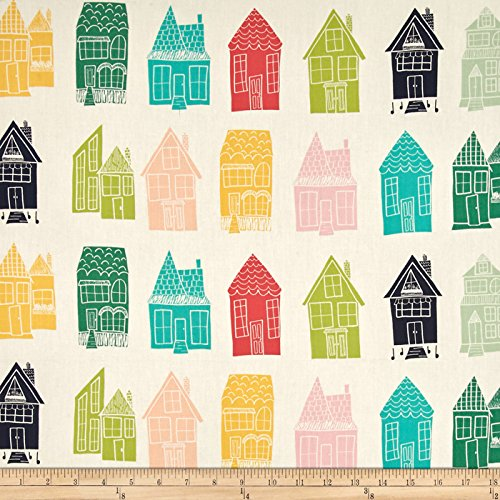 - Art Gallery Happy Home Block Festival Fabric by The Yard