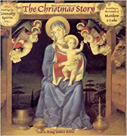 Bible Christmas Story.Amazon Com The Christmas Story From The King James Bible