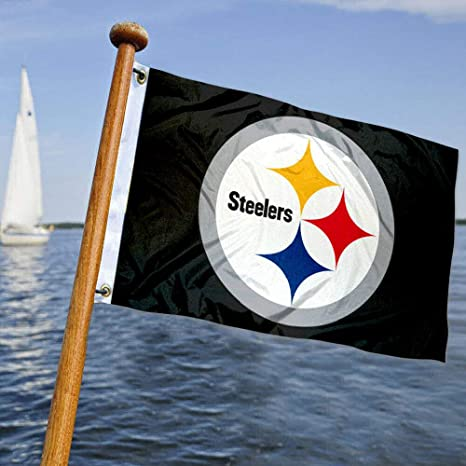 Pittsburgh Steelers barco y bandera de carro de golf: Amazon.es ...