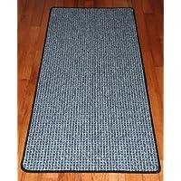 Washable Non-Skid Carpet Rug Runner - Silvered Sky (5)