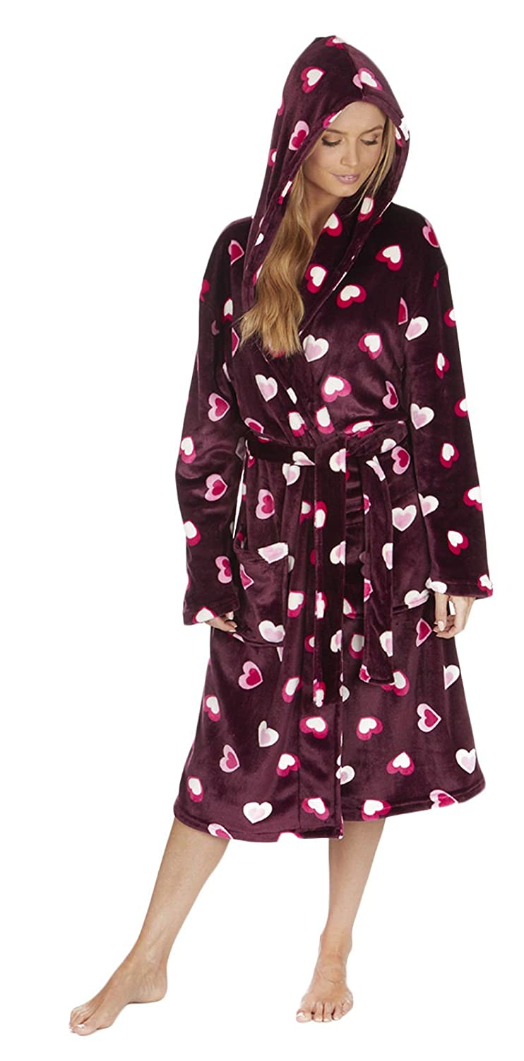 Florentina Women's Soft Fleece Robe by