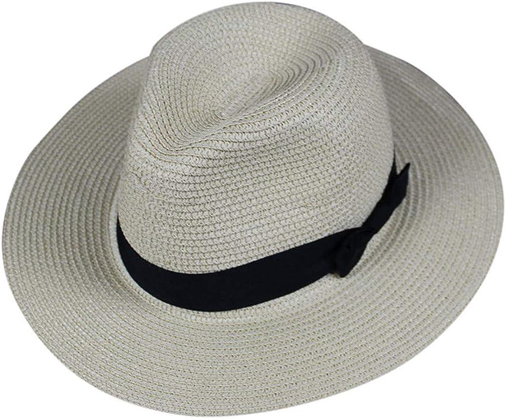 Unisex Panama Sun Hats Wide...