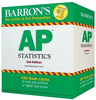 Amazon barrons ap statistics 9th edition 9781438009049 barrons ap statistics flash cards 2nd edition fandeluxe Choice Image
