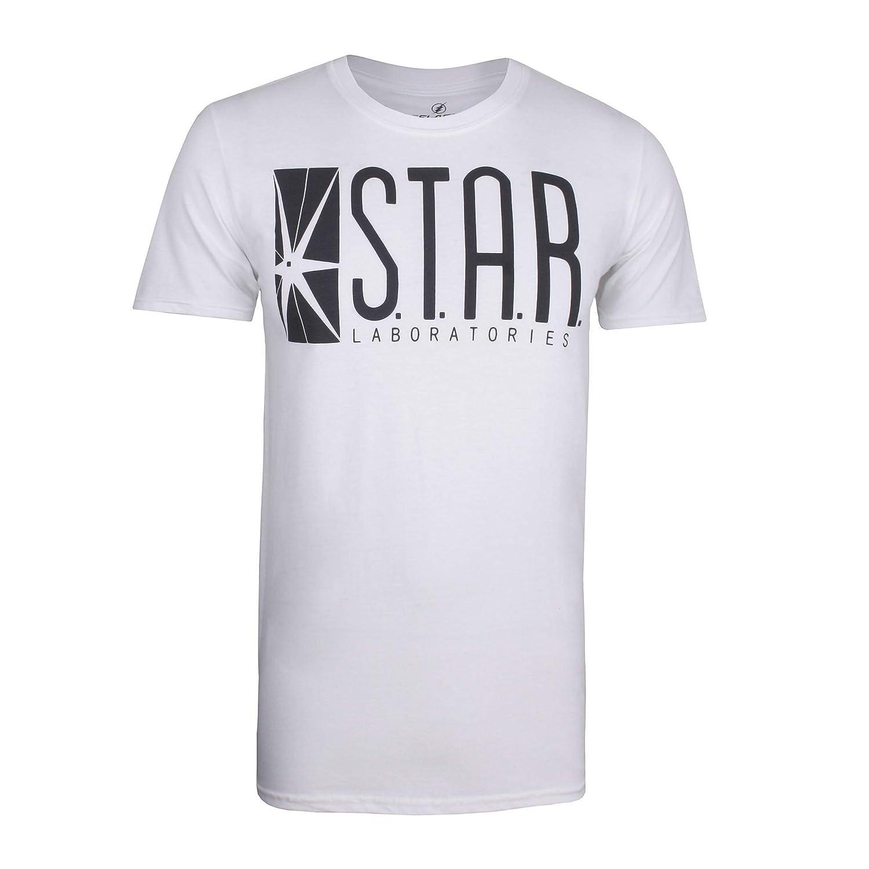 DC Comics Star Labs T-Shirt Uomo
