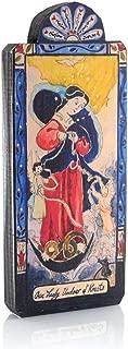 product image for Modern Artisans Our Lady Undoer of Knots Patron Saint Retablo Plaque, 3.4 x 8.25 inches