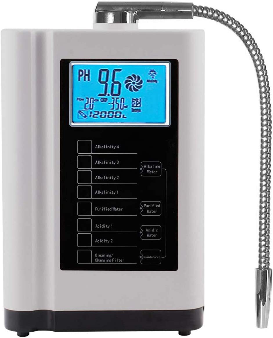 AquaSafe ionizador y purificador de Agua para el hogar | PH 3.5 a ...