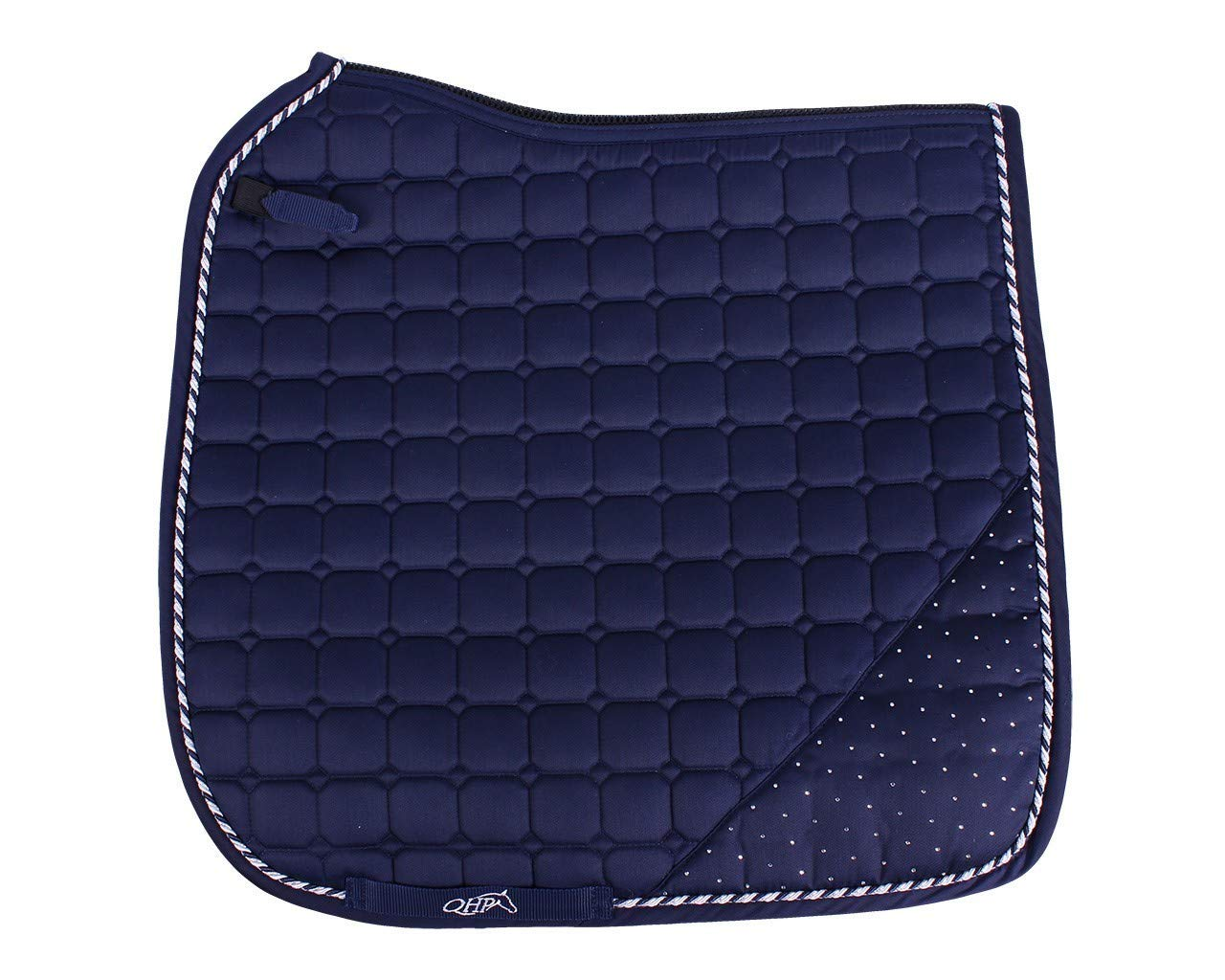 QHP Sparkle Saddle Pad Pony General Purpose Navy