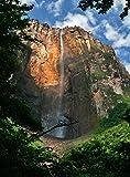 Wooden Jigsaw Puzzle Canaima National Park Angel Falls Waterfall Venezuela 500-Pieces