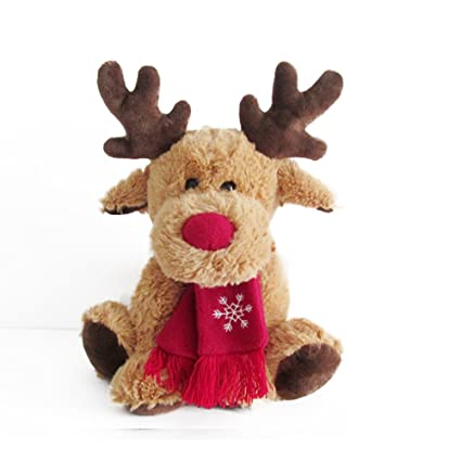 moose stuffed animal christmas moose deer stuffed animal toys reindeer decorations by magical imaginary - Christmas Reindeer Decorations
