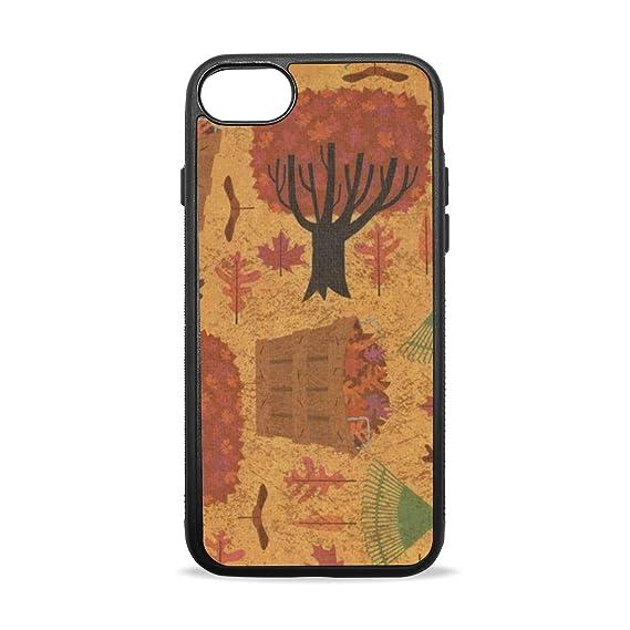 Amazon Com Keakia Autumn Halloween Wallpaper Iphone Case