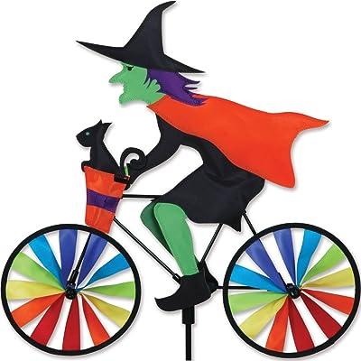 20 in. Bike Spinner - Witch: Garden & Outdoor