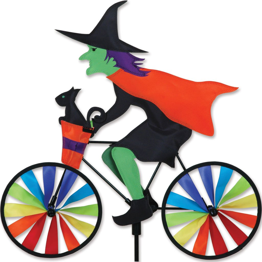 20 in. Bike Spinner - Witch by Premier Kites