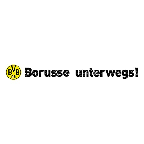 Borussia Dortmund BVB-Heckscheibenaufkleber one Size
