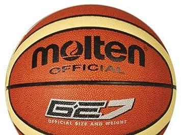 MOLTEN Bge7 Balón, Naranja/Beige, Talla Única: Amazon.es: Deportes ...